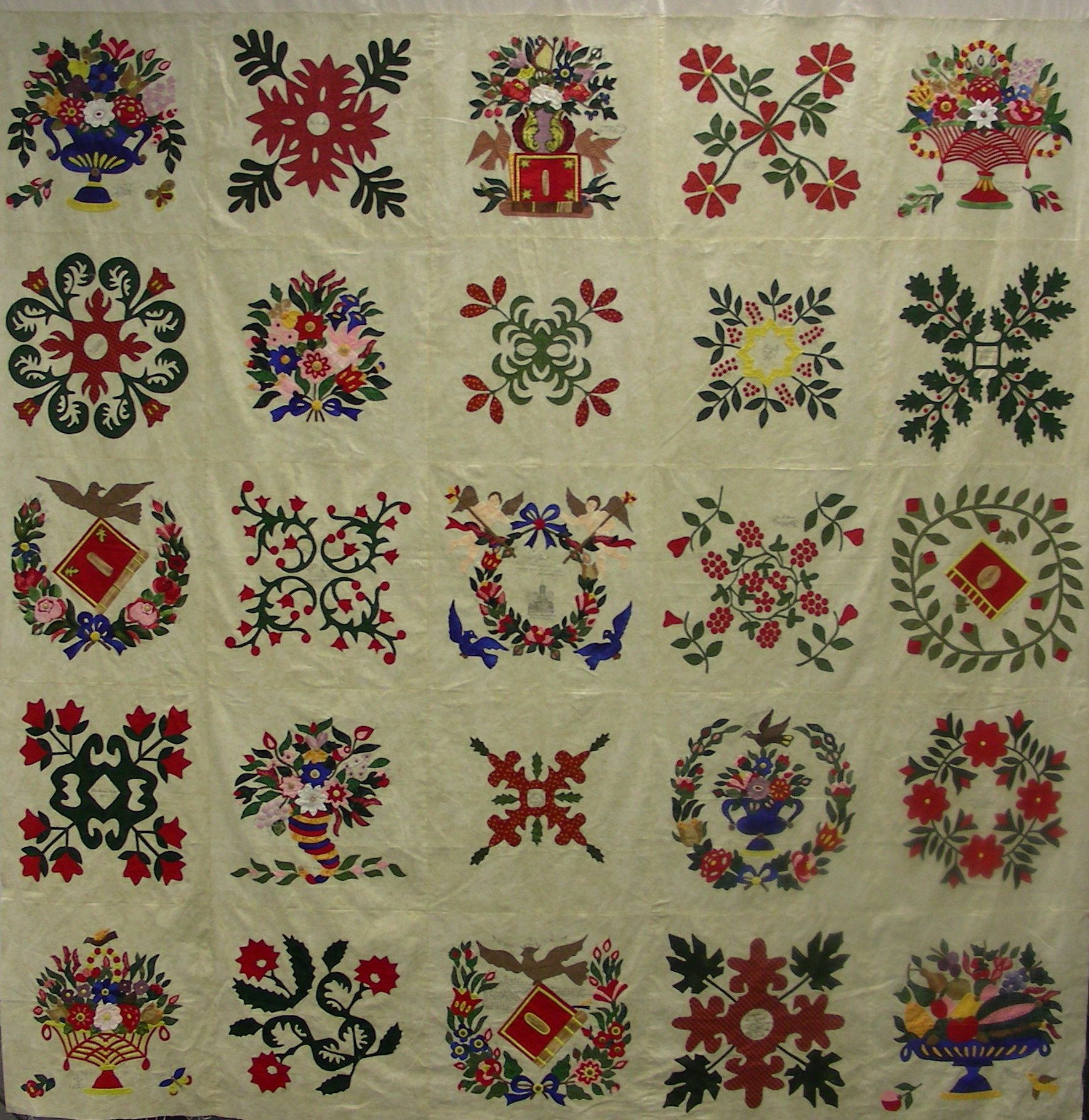 11LL Teaching Quilt.jpg - Lovely Lane Teaching Quilt